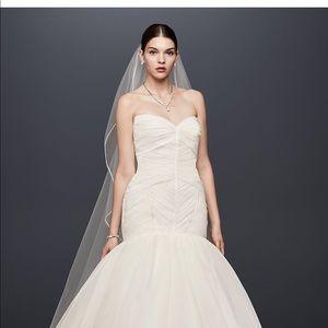 ZAC POSEN IVORY WEDDING DRESS